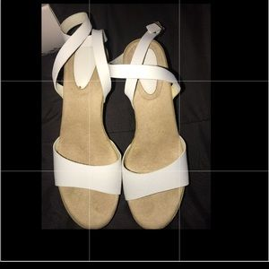 Used once wedge shoes